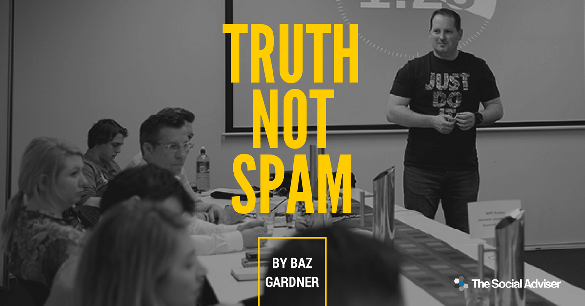 Truth NOT Spam