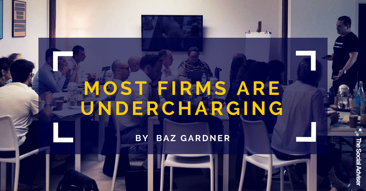 Most Firms Are Undercharging - Blog Article